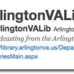 7 Questions with @ArlingtonVALib and @ArlVALibCC